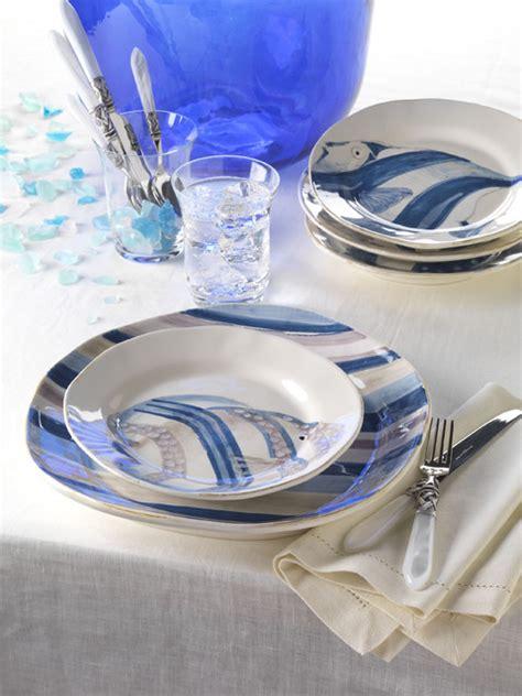 Adriatic Fish Dinnerware  Mediterranean Dinnerware