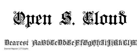 Cinzel Decorative Regular Font by 10 Cinzel Decorative Regular Font Free 5