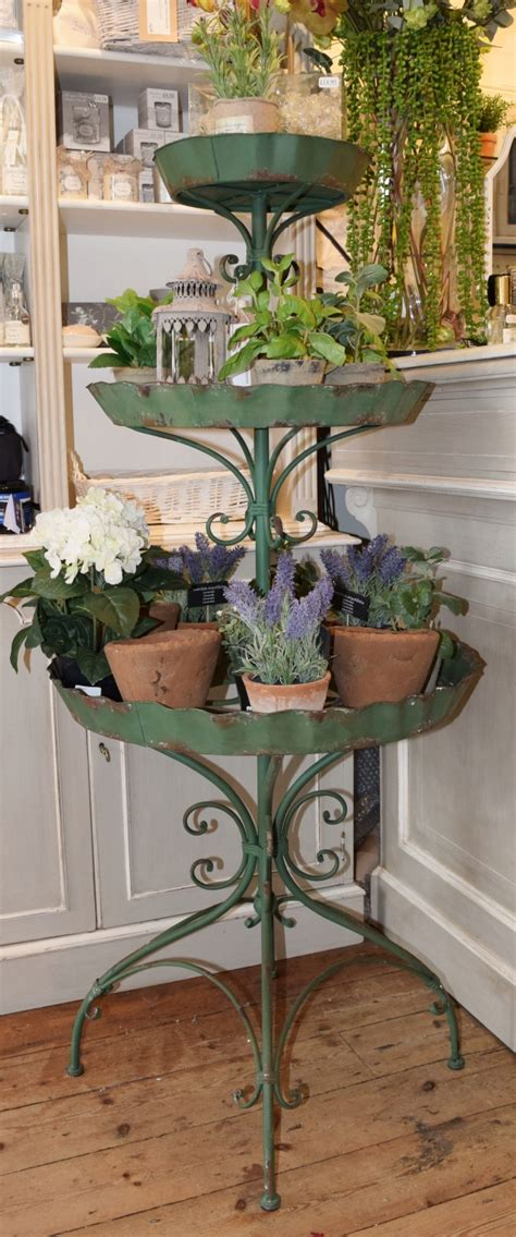 Plant Etagere 3 tier plant stand etagere in vintage vintage style