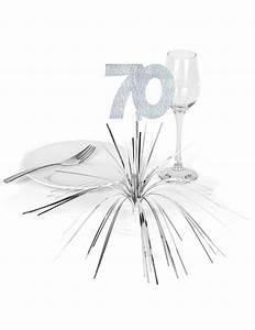 Idee Deco Table Anniversaire 70 Ans : centre de table 70 ans d coration anniversaire et f tes th me sur vegaoo party ~ Dode.kayakingforconservation.com Idées de Décoration