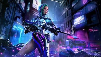 Fire Garena 4k Cyberpunk Wallpapers