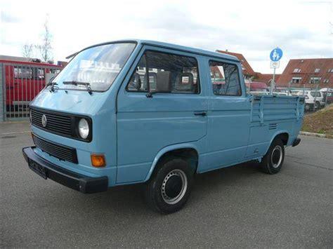 vw t3 kaufen volkswagen t3 doppelkabine 1 6 td 1988 f 252 r 12 900 eur kaufen