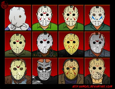 Who Played Michael Myers In Halloween 6 by Jason Voorhees Evolution By Xamoel On Deviantart