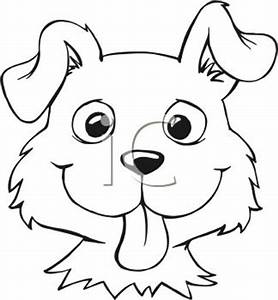 Simple Dog Face Clipart - Clipart Suggest