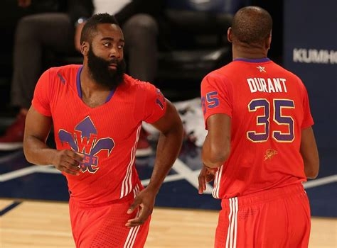 Disruptive James Harden gets his reunion with Kevin Durant ...