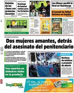 Peri U00f3dico Norte Corrientes  Argentina   Peri U00f3dicos De Argentina  Edici U00f3n De Lunes  30 De Julio