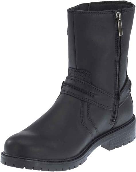 brown motorcycle boots for men harley davidson men s abner 8 inch black or brown