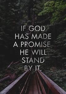 """If God ha... Jesus Promise Quotes"