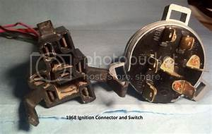 1968 Ignition Switch Pigtail Connector