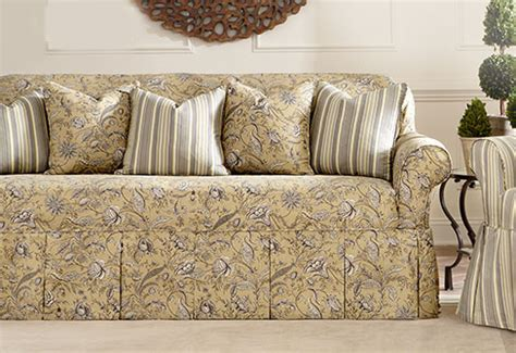 moroccan print studio day sofa slipcover slipcovers sofa twill onepiece relaxed fit wrap loveseat