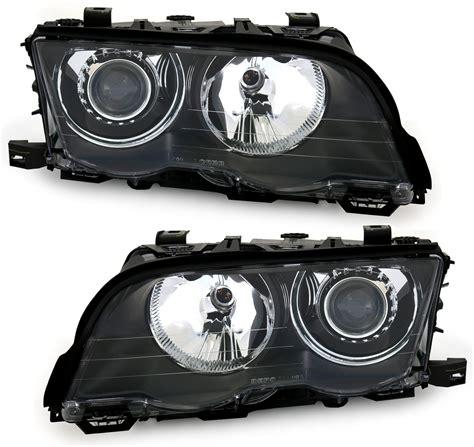 Xenon Scheinwerfer Set F 252 R 3er Bmw E46 In Schwarz Ad Tuning