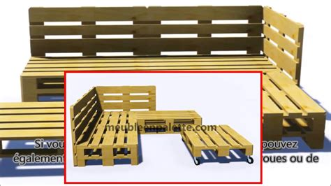 palette canap comment construire un canapé de palette pour le jardin