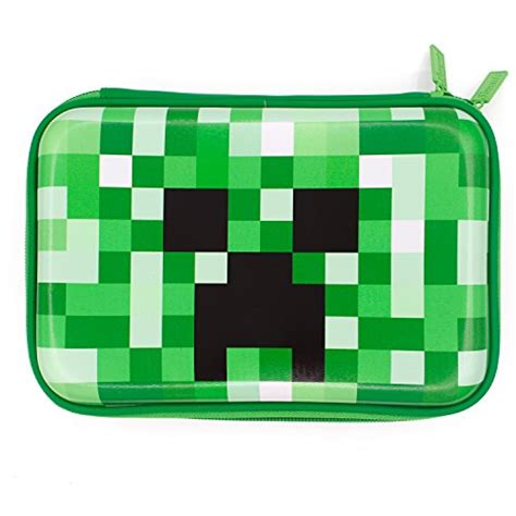 minecraft school boys hardtop pencil case holder creeper