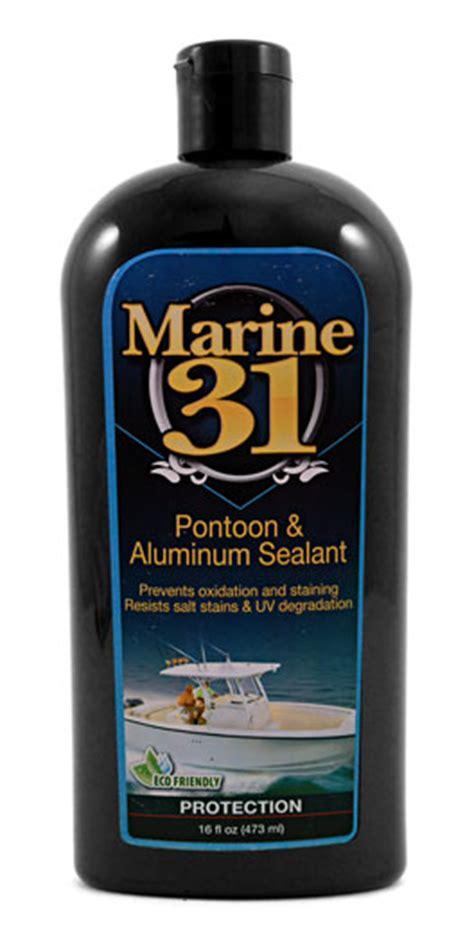 Boat Wax Sealer by Marine 31 Pontoon Aluminum Sealant