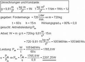 Leistung Watt Berechnen : oberstufe l sung der aufgaben zu arbeit leistung und dem ~ Themetempest.com Abrechnung