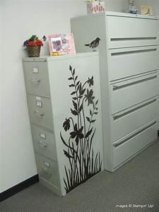 stampin up silhouette on a file cabinet silhouette With kitchen cabinets lowes with cricut sticker maker