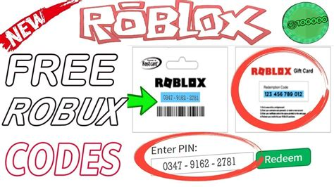 You can use these items to make your character look more unique and stick out of the crowd. New Free Roblox codes 2019 Robux Gift Cards promo codes ...