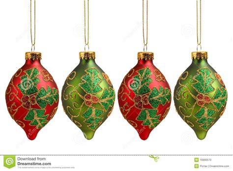 christmas ornaments stock photo image 16990570