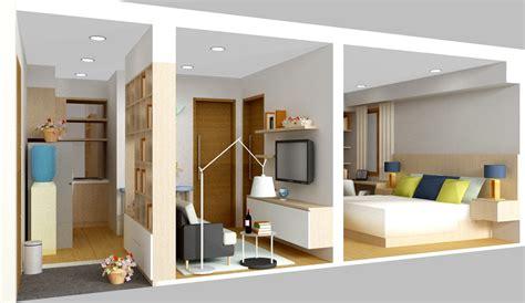 desain interior rumah minimalis type   lantai