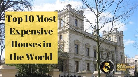Top 10 Most Expensive Houses in the World 2020 – Rich ...