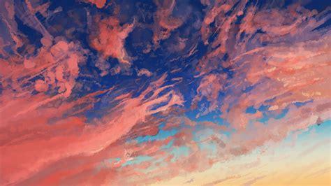 Cloud Sky Anime Sky Wallpapers Hd Wallpapers Digital Art