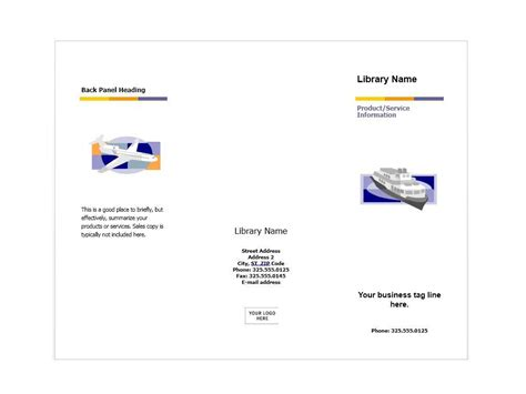 Free Pdf Brochure Templates by 31 Free Brochure Templates Word Pdf Template Lab