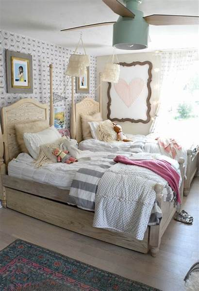 Bedroom Accent Wall Shared Bedrooms Nestingwithgrace Again