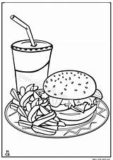 Coloring Pages Fast Junk Printable Realistic Drawing Fruit Adult Books Restaurants Magiccolorbook Getcolorings Getdrawings Unhealthy Healthy sketch template