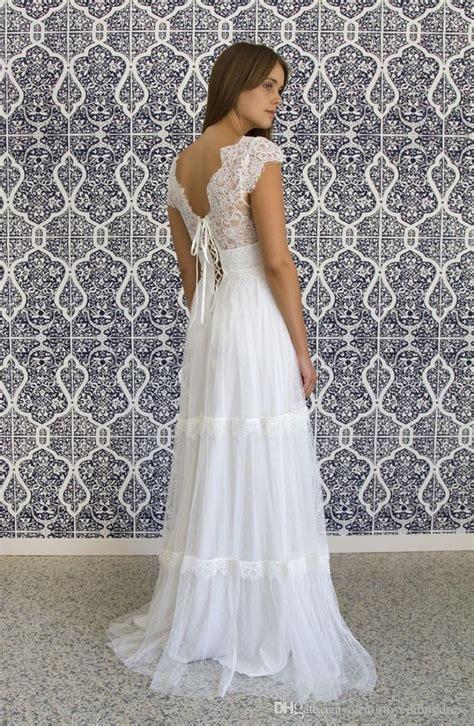 vestido de noiva vintage  hippie wedding dresses beach