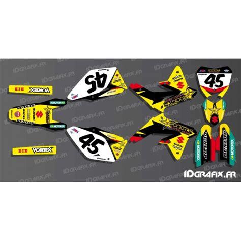 derbi kit deco rockstar kit d 233 co barcia 2017 r 233 pliqua pour suzuki rm rmz