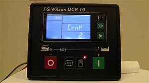 How To Navigate A Fg Wilson Dcp-10  English