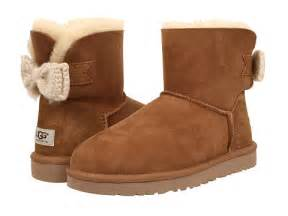 ugg mini bailey knit bow sale ugg mini bailey knit bow chestnut twinface zappos com free shipping both ways