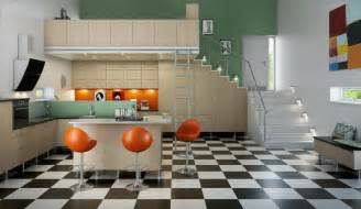 kitchen interior decor mid 60s mod kitchen interior design ideas