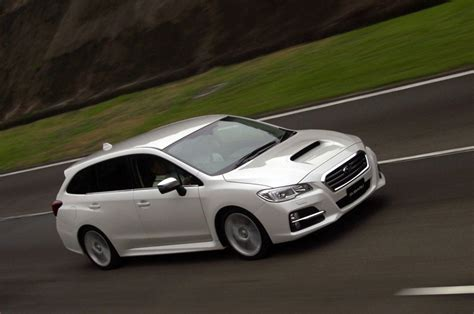 Subaru Levorg Concept Previews Next Outback Wide Open