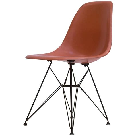 eames chaises eames shell chair on original eiffel base 1950s for sale