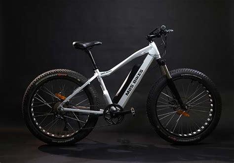 M2s Bikes All Terrain Electric Bike With 750w Motor, Fat