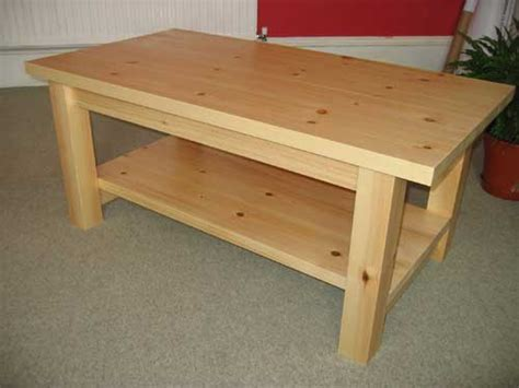 pine coffee table plans plans diy   simple