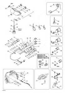 Ski Doo 1999 Mach Z - R  Electrical System