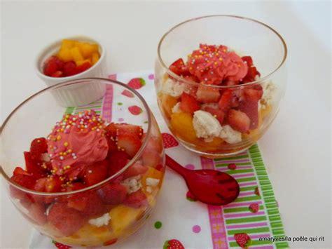recette de mangue dessert verrines fraise mangue meringue recettes de desserts plus de 1000 recettes sur cakesandsweets fr