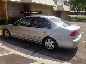 2001 Honda Civic Lx Sedan 4
