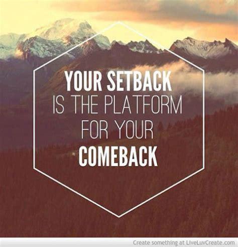 setback   platform   comeback pictures