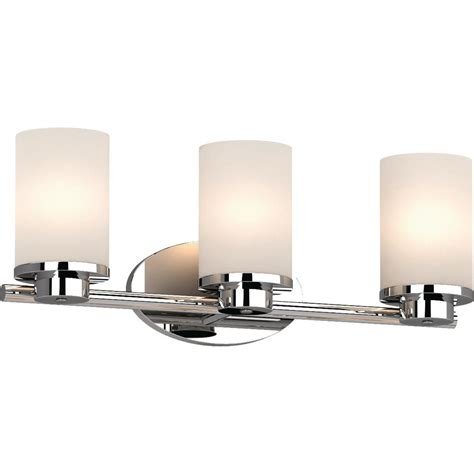 Bathroom Sconces Chrome by Volume Lighting Sharyn 3 Light 8 25 In Chrome Indoor