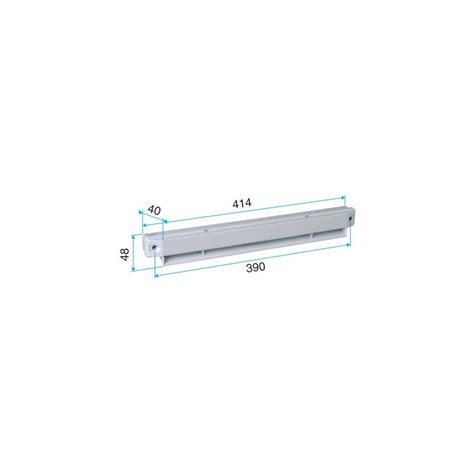 grille ext 233 rieure acoustique pour entr 233 e d air ea30 ea45 ehl efl marron aldes 11011260