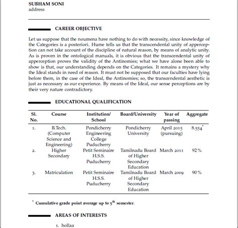 Sectioning  My Own Cv Template  Help!  Tex  Latex. Date Of Availability In Resume. Resume Template Picture. Cna Resume Sample With Experience. Work Experience Resume Sample. Cook Resumes. Description For Resume. Veterinarian Resume Sample. Sample Of Best Resume Format
