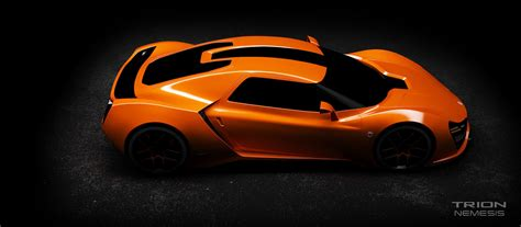 trion nemesis trion nemesis 2016 supercar 3d model max tga cgtrader com