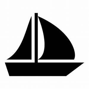 Sailboat icon | Game-icons.net