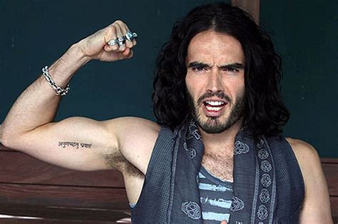 hilarious video  russell brand showing
