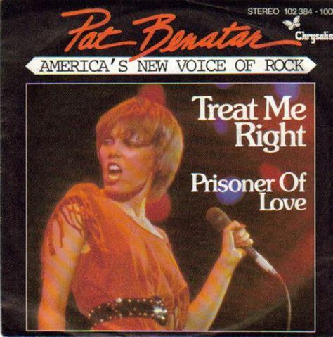 Pat Benatar - Treat Me Right | Releases | Discogs 1980 ...