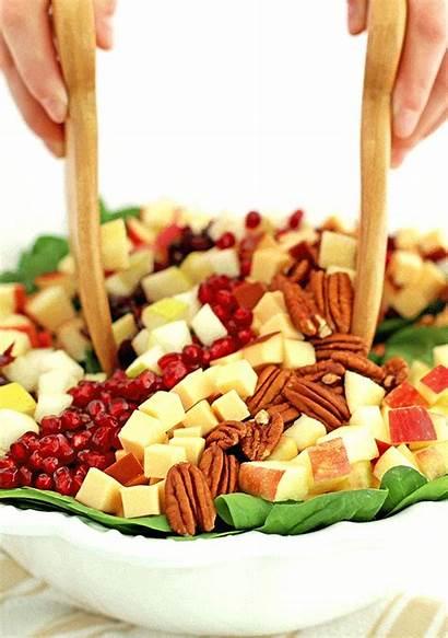 Salad Fruit Raw Recipe Eating Apple Healthy