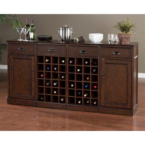 natalia  piece modular cabinet set wine rack drawers